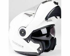 Flip up Helmet,Scooter Helmet,Motorcycle Helmet Takachi TK380 White - Size XL