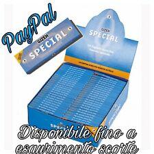 🔥 CARTINE GIZEH SPECIAL CORTE Tipo A AZZURRE 50x 10-25-50-100 PACCHETTI BOX