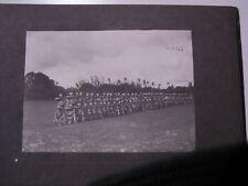 (n7366)   Foto Deutschostafrika 23x 16,5 cm Askari Gewehrparade, Aufnahme V
