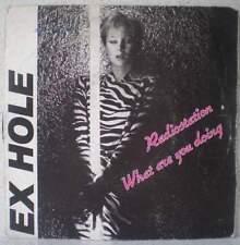 "EX HOLE Radiostation RARE 7"" 1982 new wave / cold wave BELGIUM"