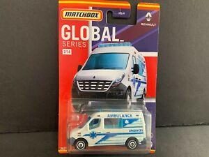 Matchbox Renault Master Ambulance 7/14 HCL41-956B 1/64