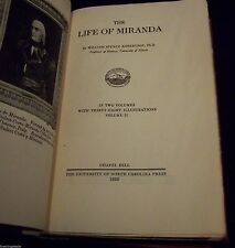 THE LIFE OF MIRANDA - Robertson TWO VOLUME SET - LIMITED ED 1929 ONLY 105 COPIES