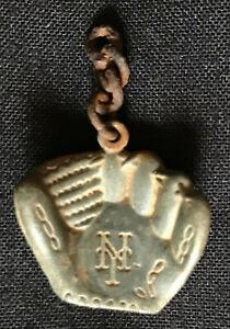 Vintage 1930's-40's New York Giants lead metal Glove Charm