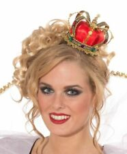 Crown Cute Red & Gold Mini Queens Crown