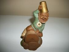 Tom Clark Gnome Darn 1988 Thimble Sewing Spool
