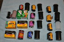 Expired 35mm Film Lot - Kodak, Agfa, Seatle Filmworks & Fujifilm. - 16 rolls