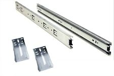 "24"" Full Extension, Ball Bearing Drawer Slide with Rear Brackets 10 pair"