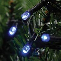 LED Outdoor Christmas Fairy Lights Clear Multi Blue Xmas Bulbs Decoration Tree