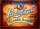 "Leinenkugel's Classic Amber LARGE 35"" X 47"" Bar Advertising Reflective Sign"