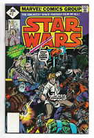 Star Wars # 2 Marvel Comics 1977 Whitman No UPC code Diamond price 1st Han Solo
