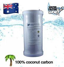 "Coconut Carbon Block Water Filter Cartridge 5 micron 10"" x 4.5"" BIG BLUE ✅✅✅"
