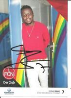 1.FC Nürnberg - Edgar Salli - Autogrammkarte