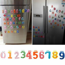 10/12/26x Wooden Magnetic Letters & Numbers Alphabet Fridge Educational Kids Toy