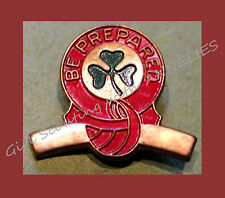CURVED BAR PIN 1940s HIGHEST AWARD Cadette Senior Girl Scouts Collector EUC GIFT