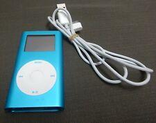 Apple iPod Mini 1st Generation A1051 4GB Music Player Blue