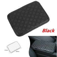 Leather Car Armrest Pad Covers Console Universal Auto Storage Protection Cushion