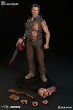 the EVIL DEAD: ASH WILLIAMS ( Bruce Campbell ) 1/6 Action Figure 12″ SIDESHOW