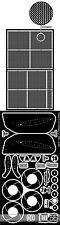 1/12 2 SHEET PE DETAIL UP SET for TAMIYA FERRARI 312T LAUDA REGAZZONI
