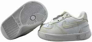 Nike Little Ace '83 White 302402-111 Toddler Size 2C