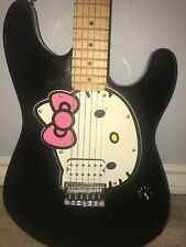 squier hello kitty for sale ebay. Black Bedroom Furniture Sets. Home Design Ideas