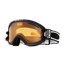 Oakley Ski Lunettes O Frame 2.0 Pro XS OO7114-02 Noir Mat Persimmon & Gris Foncé