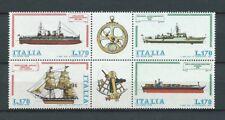 ITALIE - 1978 YT 1341 à 1344 bateaux bloc - TIMBRES NEUFS** MNH LUXE