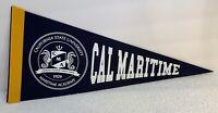 CSU California Maritime Academy Keelhaulers CSUM Vallejo Pennant Mint Condition