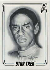 Star Trek 50th Anniversary ArtiFEX Emily Tester Chase Card A36 LtCdr. Tuvok
