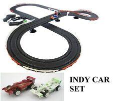 Indy Style Slot Car Track Ho Scale Race Set IMPROVED 2016! Formula car
