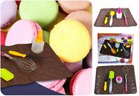 French Macaroon Baking Mat Cake Decorating Pen Set Muffin Pastry Sheet