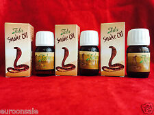 3 x TALA SNAKE OIL 20 CC NATUREL, GROWING HAIR, Permanent Solution for LOSS HAIR