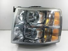2007 - 2013 Chevy Silverado Headlight w/ Wiring Harness OEM LH (Driver) - Used