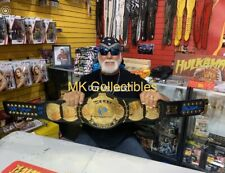 WWF/WWE Signed Hulk Hogan Winged Eagle Heavyweight Belt Wrestling W/ COA