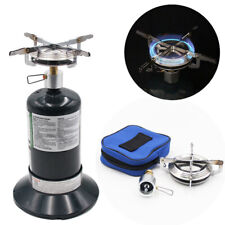 Outdoor Portable Camping Propane Cooking Gas Stove w/ Adjustable Burner T0Y0