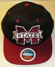 Mississippi State Bulldogs University Black Snapback hat New Ncaa