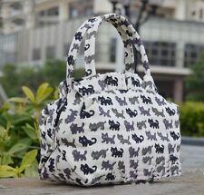 Little cats women Canvas Gril's clutch purse Change purse Travel comestic Bag