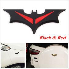 Auto Car Door Hood Side Fender Tail Trunk Sticker 3D Metal Bat Logo Badge Emblem