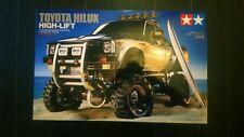Tamiya 1/10 Toyota Hilux High - Lift NIB new truck rc car kit 1/10 up -n kyosho