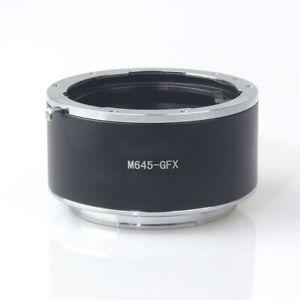 M645-GFX Adapter for Mamiya 645 Mount Lens to Fujifilm GFX Medium Format Camera
