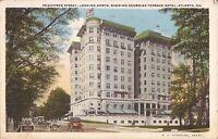 Atlanta, GEORGIA - Peachtree Street - Georgian Terrace Hotel - 1923 ARCHITECTURE