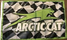 Arctic Cat Racing 3x5 Flag Banner Man Cave Bar Garage
