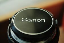 Canon 55mm f/1.2 FD Non-Aspherical breechlock lens EXC++ #22397 (with Sample)