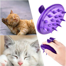 Pet Cleaning Brush Dog Cat Massage Hair Removal Grooming Silicone Brush Comb