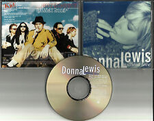 DONNA LEWIS Without love w/ 2 RARE EDITS & HOLIDAY GREETING PROMO DJ CD Single