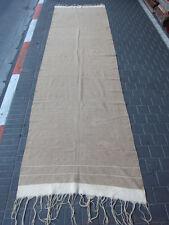 Vintage Antique Moroccan Carpet Kilim Hand Made 470x127-cm / 185.0x50-inches