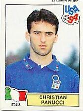 N°270 CHRISTIAN PANUCCI ITALIA ITALY PANINI WORLD CUP 1994 STICKER VIGNETTE 94