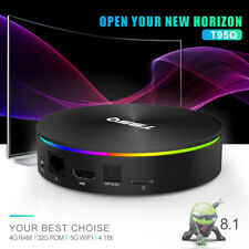 T95Q Android 8.1 TV-Box Amlogic S905X2 Quad Core 4GB + 64 GB BT4.1 UHD 4K H.265