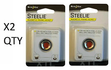 Nite Ize Steelie Magnetic Phone Socket STSM-11-R7 additional phone socket *TWO*