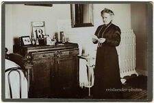 Freitag der 13te, Original-Kabinett-Photo um 1890