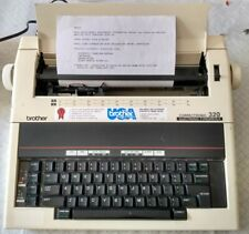 Brother 320 Electronic Typewriter Correctronic portable. Tested. Good Condition.